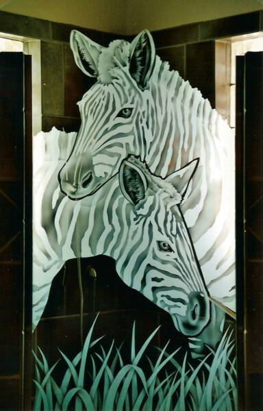 Etched Glass Etched Glass Design By Premier Etched Glass Studio