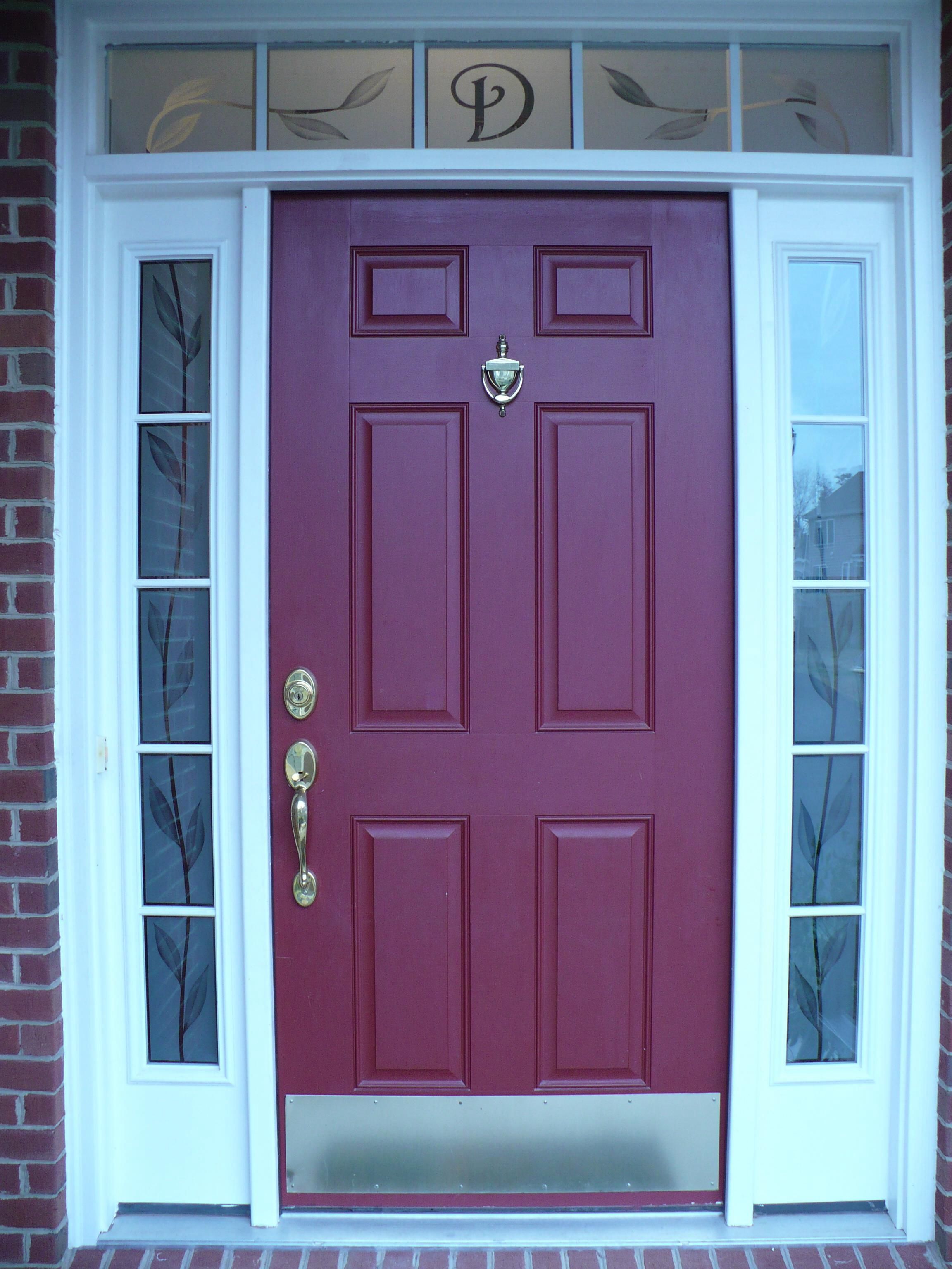 Home entrance door entrance doors with side panels for Exterior doors with glass